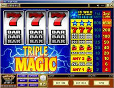 Triple Magic Online Casino Game